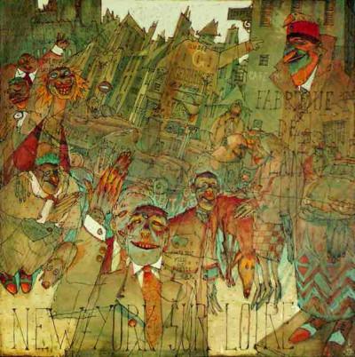 Page 4 Affiche New York sur Loire ; De Crécy ; 60x80