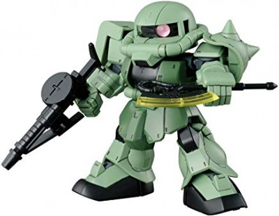Couverture SD Gundam Cross Silhouette Zaku 2