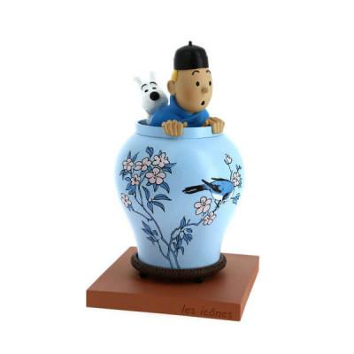 Page 1 Tintin Potiche Lotus bleu