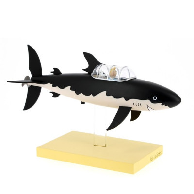 Couverture Tintin Sous-marin requin