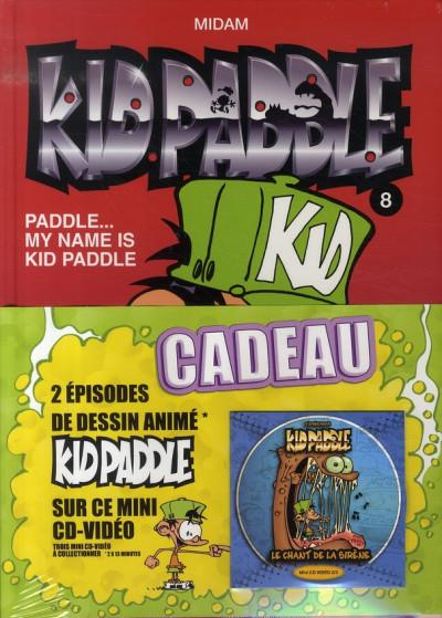 Couverture Kid Paddle tome 8 + Mini CD vidéo