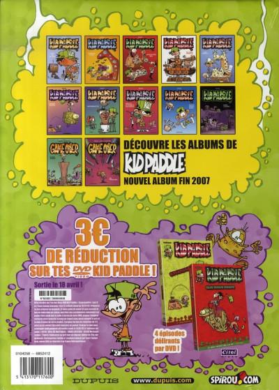 Dos Kid Paddle tome 8 + Mini CD vidéo