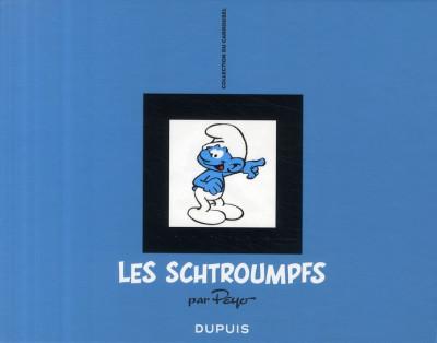 Couverture Schtroumpfs carrousel - coffret tome 1 à tome 3