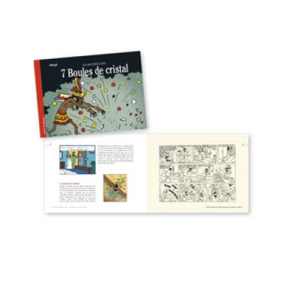 Page 1 Tintin - Les mystères des 7 boules de cristal