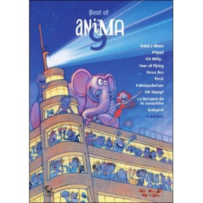 Couverture DVD Best Of Anima 9