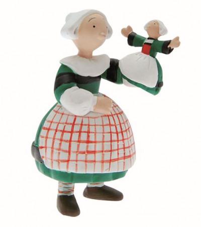 Page 7 Figurine Bécassine enfant et la marionnette poupée