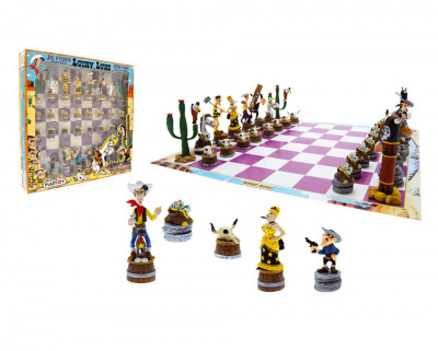 Page 1 Jeu d'échecs Lucky Luke