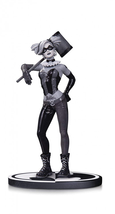Couverture Harley Quinn - DC Direct Black and White