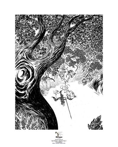 Page o Pedrosa - Affiche L'Âge d'Or 40x50 - numérotée et signée