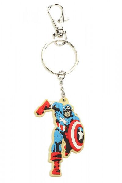 Couverture Porte Clé Marvel - Captain America