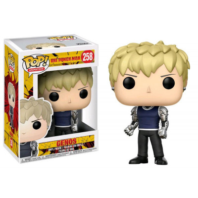 Couverture Figurine Pop - Genos (One-Punch Man)