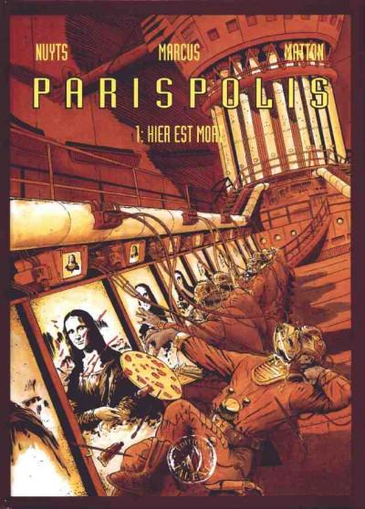 Couverture Parispolis tome 1 - Hier est mort (éd. 1995)