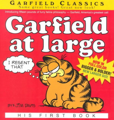 Couverture Garfield at large