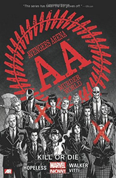 Couverture Avengers Arena (VO) tome 1