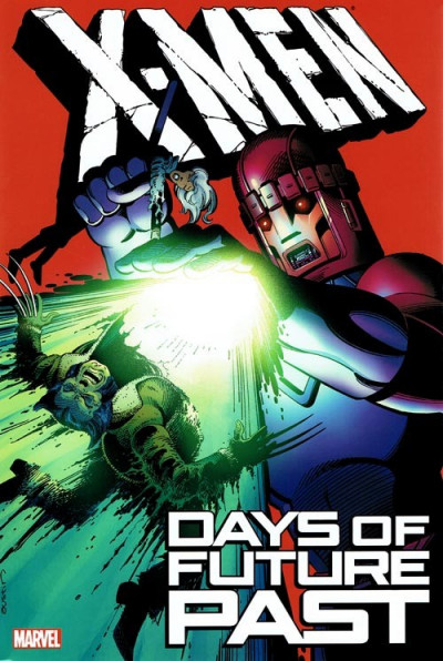 Couverture X-Men: Days of Future Past (en anglais)