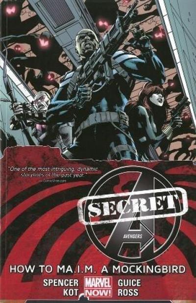 Couverture Secret Avengers (VO) tome 3