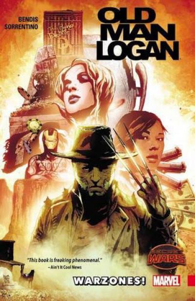 Couverture Old Man Logan - Warzones (VO)