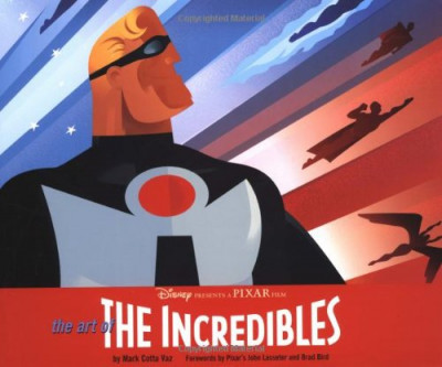 Couverture The art of the incredibles