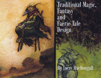 Couverture Traditional Magic, Fantasy and Faerie Tale Design