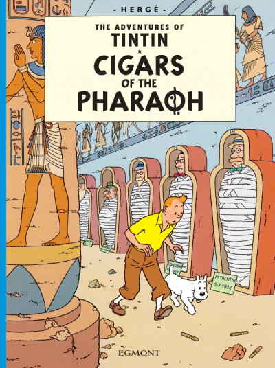 Couverture CIGARS OF THE PHARAOH