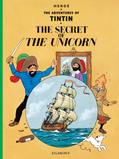 image de The adventures of Tintin tome 11 - the secret of the unicorn - tintin en anglais