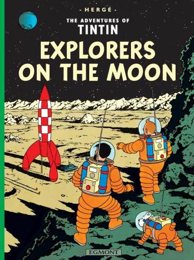 image de The adventures of Tintin tome 17 - explorers on the moon - tintin en anglais