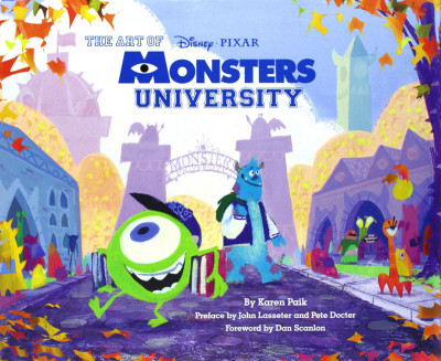 Couverture The art of Monsters University