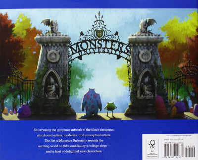 Page 1 The art of Monsters University