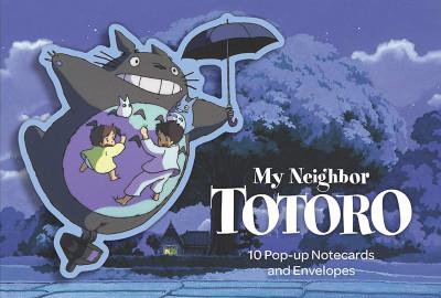 Couverture Cartes postales pop-up Mon voisin Totoro
