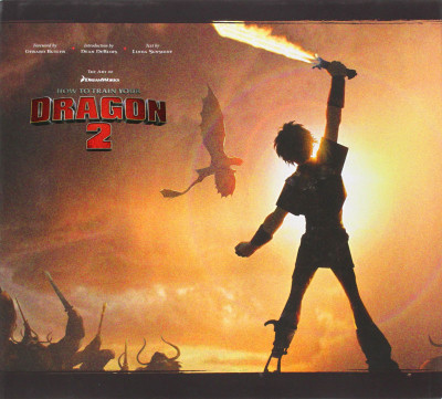 Couverture The Art of How to Train Your Dragon 2
