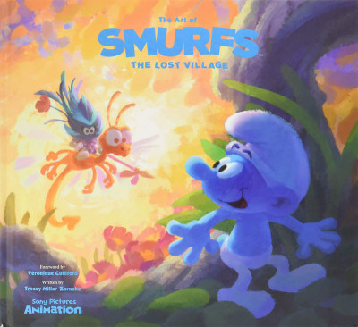 Couverture The art of smurfs: the lost village