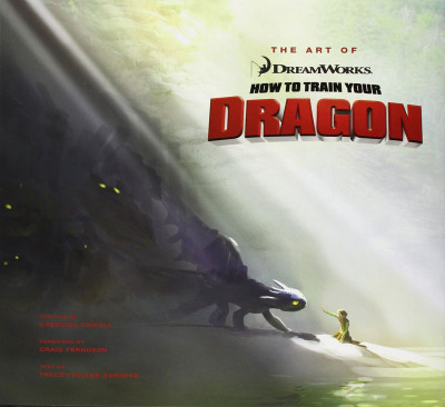 Couverture The Art of How to Train Your Dragon 1