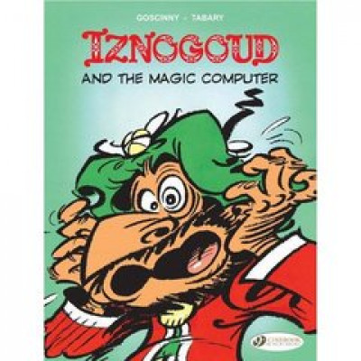 Couverture Iznogoud tome 4 - and the magic computer