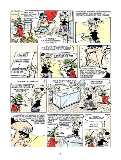Page 6 Iznogoud tome 4 - and the magic computer