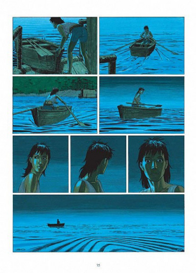 Page 1 Betelgeuse tome 1 (en anglais)
