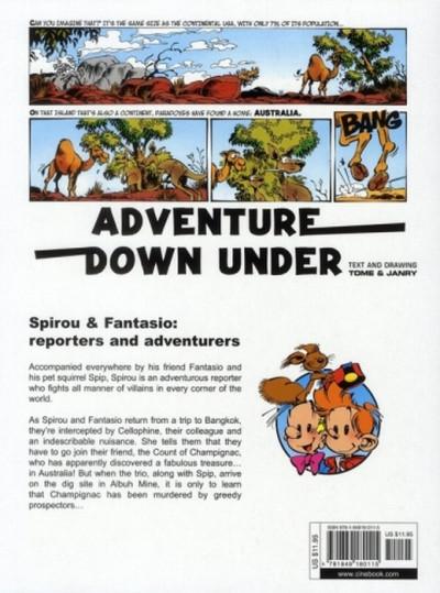 Dos Spirou and Fantasio tome 1 - adventure down under - en anglais
