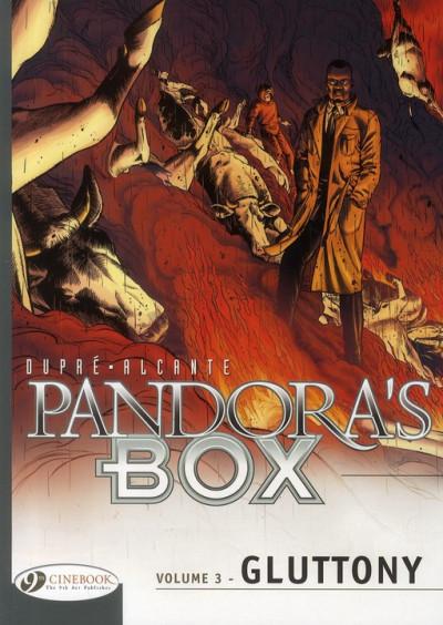 Couverture Pandora's box tome 3 - gluttony (anglais)