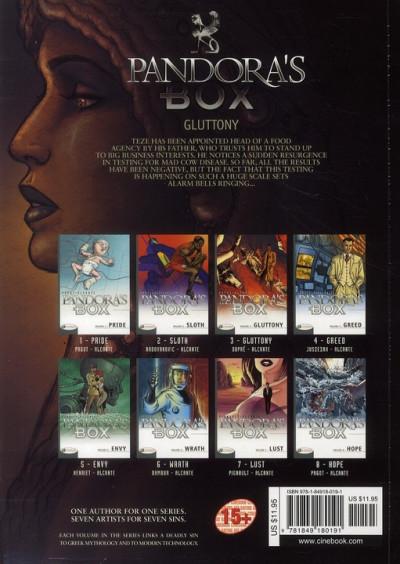 Dos Pandora's box tome 3 - gluttony (anglais)