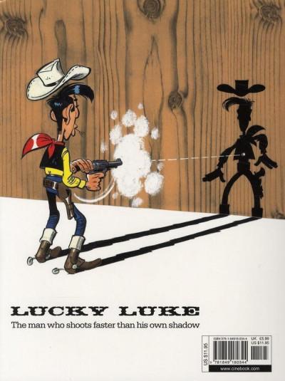 Dos Lucky luke tome 23 - a cure for the daltons (en anglais)