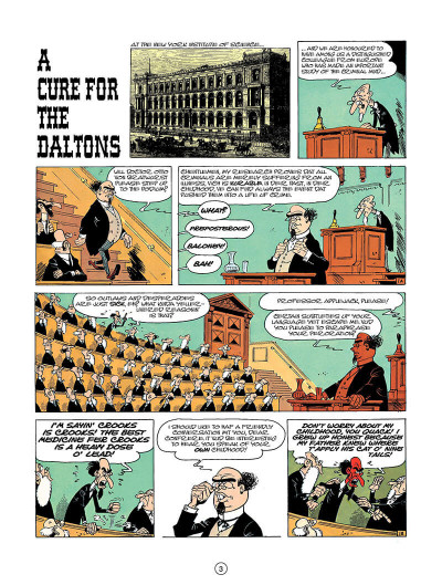 Page 2 Lucky luke tome 23 - a cure for the daltons (en anglais)