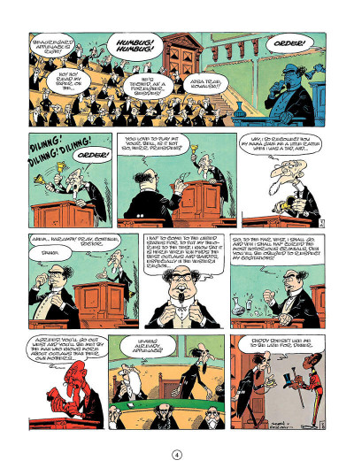 Page 3 Lucky luke tome 23 - a cure for the daltons (en anglais)