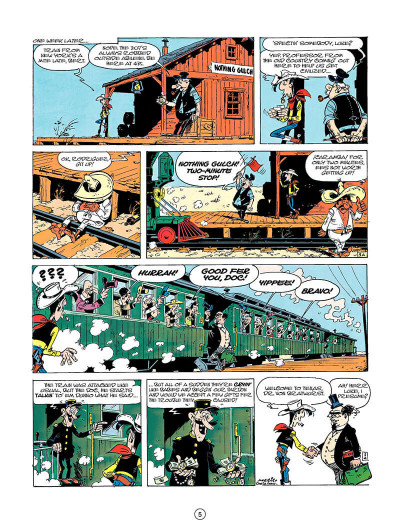 Page 4 Lucky luke tome 23 - a cure for the daltons (en anglais)