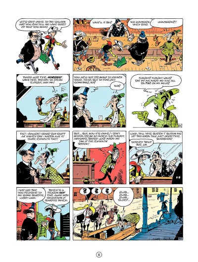 Page 5 Lucky luke tome 23 - a cure for the daltons (en anglais)
