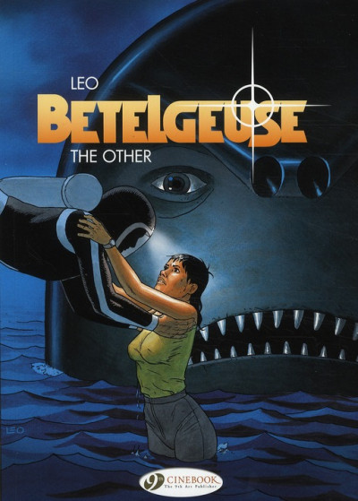 Couverture Betelgeuse tome 3 - the other (en anglais)