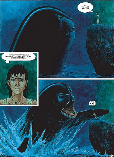 Page 1 Betelgeuse tome 3 - the other (en anglais)