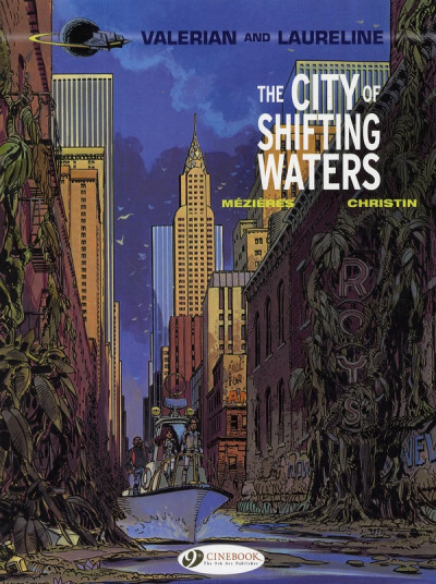 Couverture Valerian tome 1 - the city of shifting water