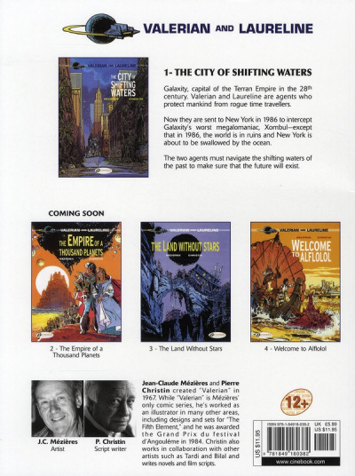 Dos Valerian tome 1 - the city of shifting water