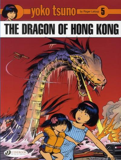 Couverture Yoko tsuno tome 5 - the dragon of hong kong (en anglais)