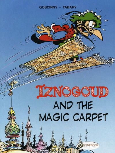 Couverture Iznogoud tome 6 - and the magic carpet