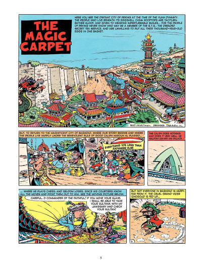 Page 4 Iznogoud tome 6 - and the magic carpet